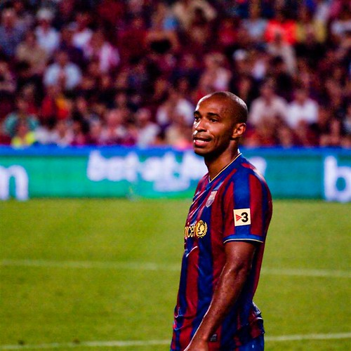 Barcelona - Supercopa 2009 - Thierry Henry by boldorak2208.