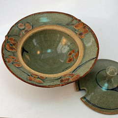 Marjo (?). Lidded bowl. Inside view