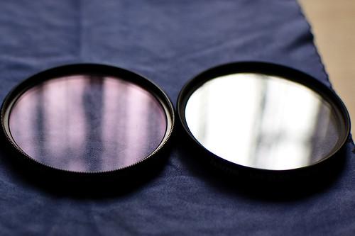 Reflejos en filtros UV