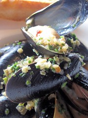 canoe restaurant - blue hill bay mussels by foodiebuddha