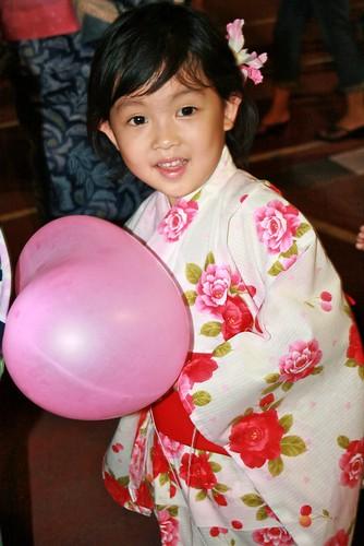 little girl in kimono (by Chengings)