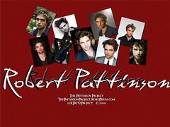 Wallpaper: Robert Pattinson:  Pix Collage  [1024 x 768]