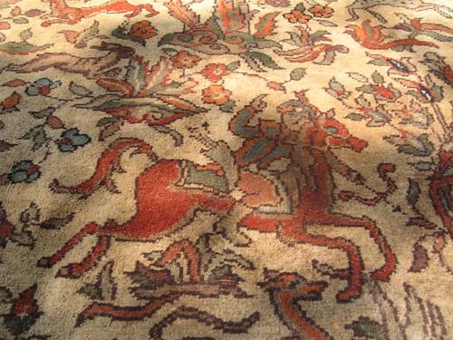Turkish rug - hunter by you.