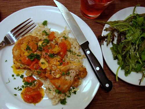 Dinner:  August 30, 2009