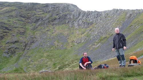 At Scales Tarn...Sharp Edge looms beyond