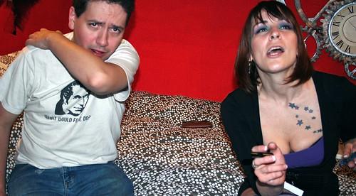 20091114 - AE & Meagan's birthday party - Clint, Heather - (by AE) - 4107757480_b383b61a3b_o