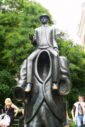 Das Kafka-Denkmal