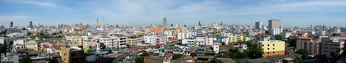 Bangkok Morning from the Apartment