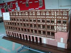Maquette de l'ancienne usine Clarenson