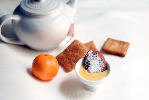 Cannoli con mandarina curd