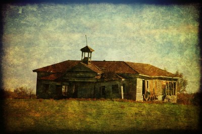 Old Shiloh School Textured