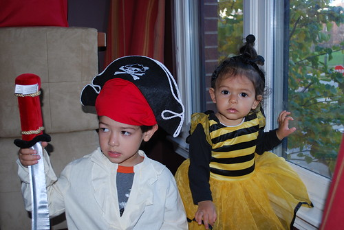 My Little Trick or Treaters!