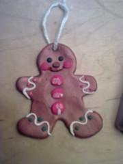 Skye's gingerbread man decoration