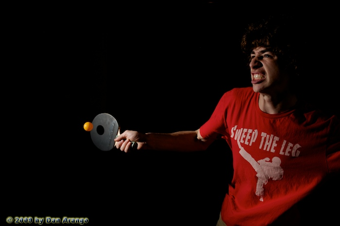 Martial Arts Ping Pong