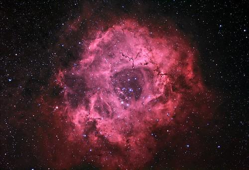 Rosette Nebula, HaRGB