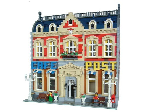 LEGO Cafe Post building