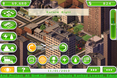 3/23/10 - Three new images from SimCity Deluxe (iPhone)