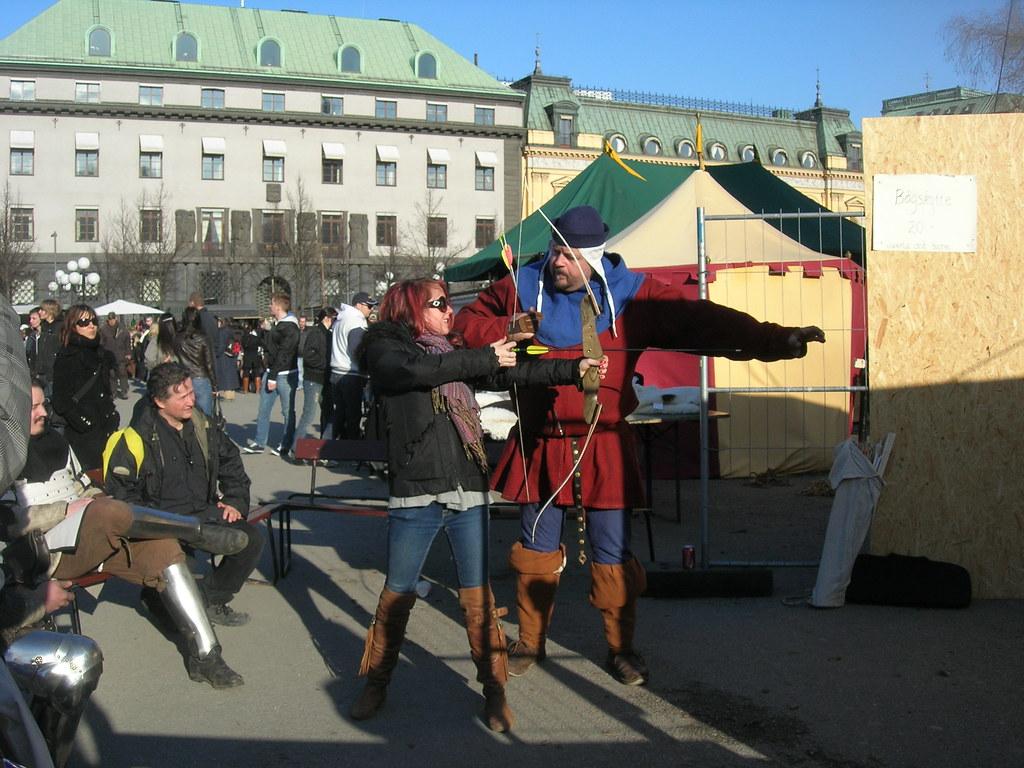 Medieval market in Stockholm, 2010 Apr - 4