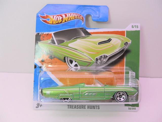 hot wheels treasure hunt '63 t-bird (1)