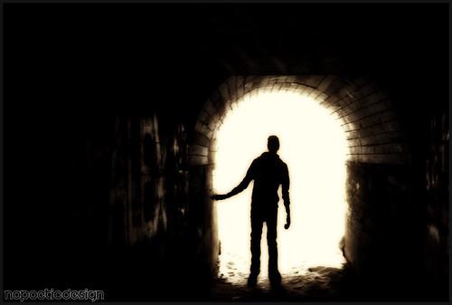 Devils Puchbowl - Tunnel Brad