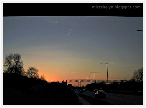 Meteor When Sun Goes Down