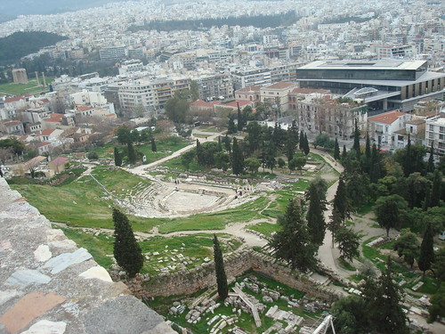 Amphitheater below the Acropolis