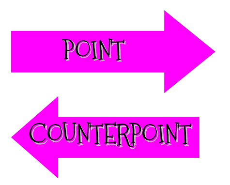 Point Counterpoint button