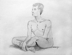 Male nude - Nu masculin