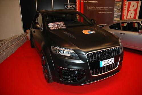 Satin Black Audi Q5
