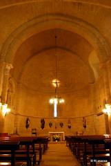 Vista de la nave principal de la iglesia de San Andrés