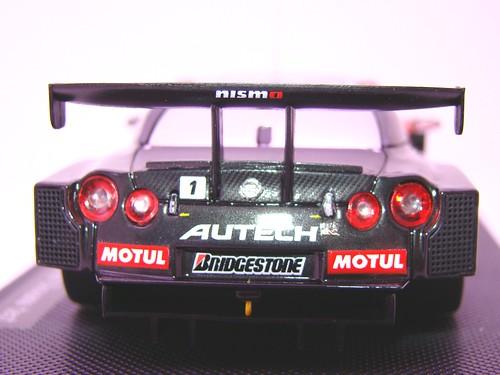 EBBRO MOTUL AUTECH GT-R SUPER GT 2009 OKAYAMA TEST (8)