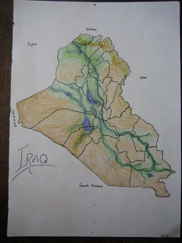 learning the middle east through maps