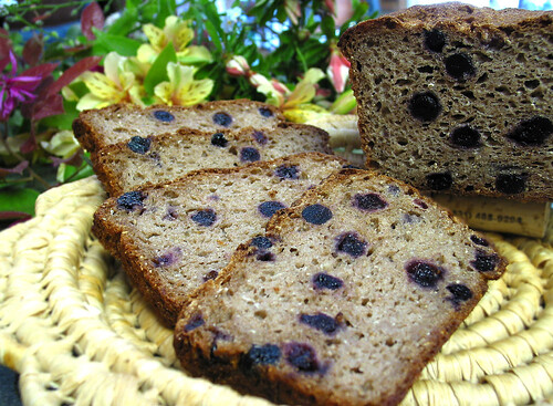 Gluten-Free Blueberry Bread