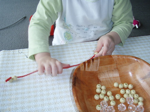 Beading in Action