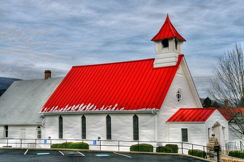 The Red Roof Country Church