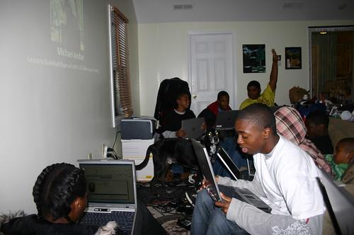 Computer Literacy Program - IT Jobs - Khalif Raises Hand