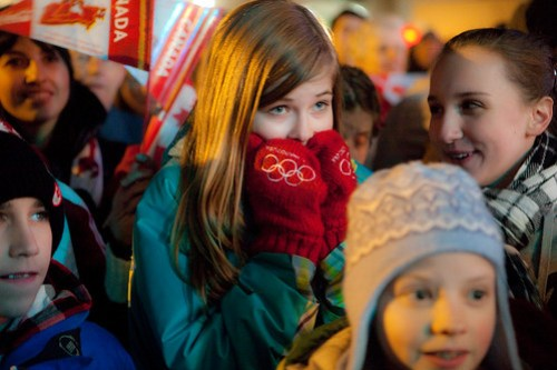 Prince George, British Columbia Vancouver 2010 Torch Relay Celebration