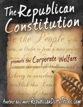 The Republican Constitution Support the Corporate Welfare Image