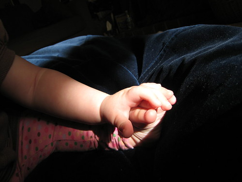 baby hand and foot