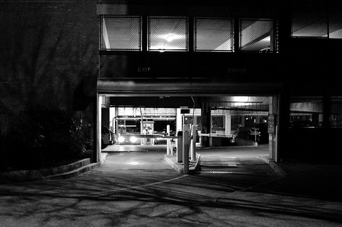 Late Night Parking Garage