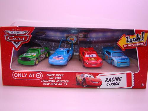 Disney CARS Target Lenticular 4 pack