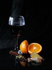 Mulled Wine by Ian Hayhurst