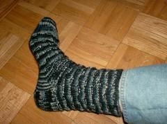 Rocky Butte Socks - Sock #1