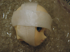 Mummy Doll Head