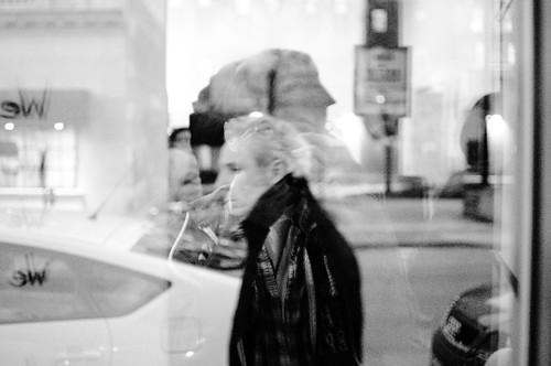 Street Life Through a Window