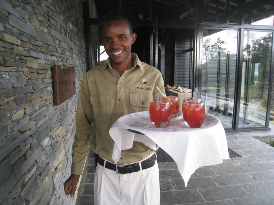 A refreshing (non-alcoholic) caipirinha awaited each of us upon arrival.