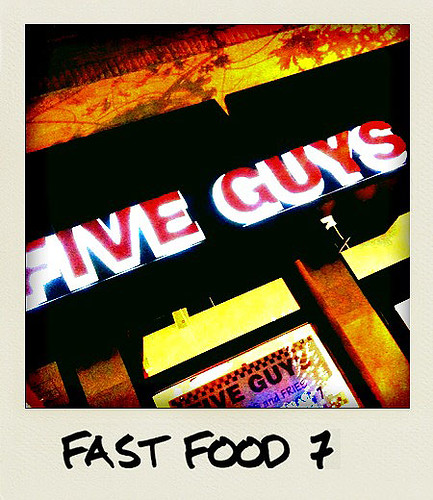 Five Guys, BethesdaTaken With An iPhone