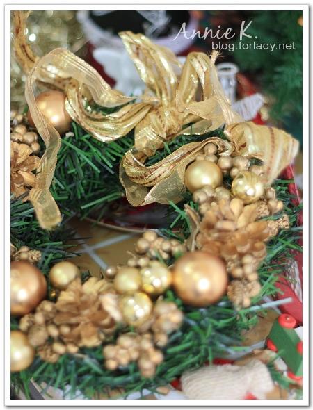 耶誕節花圈
