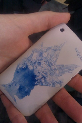 "Threadless ""CES Edition"" Griffin iPhone case"