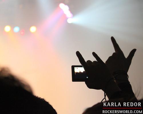 At Saosin's Concert